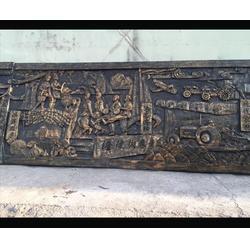 宝鸡铸铜浮雕壁画-济南京文雕塑质量保证-铸铜浮雕壁画生产厂家图片