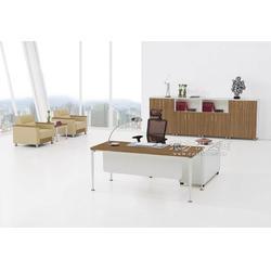 公司企业事业单位简约胶版办公桌网椅KR2-D0220图片