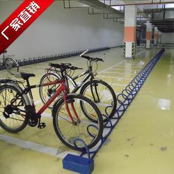 螺旋自行车摆放架_厂家(在线咨询)_北京自行车摆放架图片