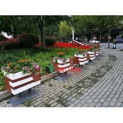 朗汀城市生态空间装饰花箱 打造城市立体绿化空间艺术图片