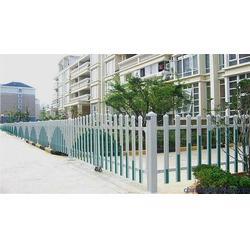 护栏施工方案,护栏,PVC塑钢社区围栏图片