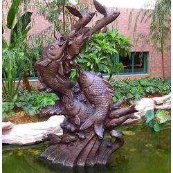 城市雕塑生产厂家_聊城城市雕塑_世博铜雕图片