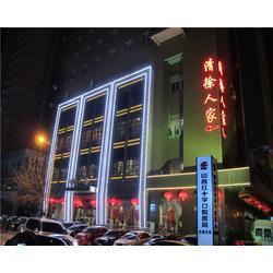 宾馆楼宇亮化-楼宇亮化-山西尚格光电工程图片