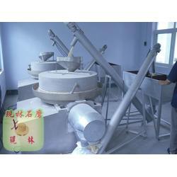 现林石磨(图)、二手石磨面粉机、石磨面粉机图片