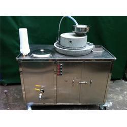 小型商用豆浆机,中山市商用豆浆机,现林石磨(图)图片