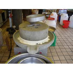 石磨豆浆,手动石磨豆浆机,现林石磨图片
