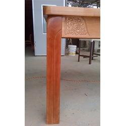源林木业(多图)、橡胶木餐桌椅定制、橡胶木餐桌椅图片