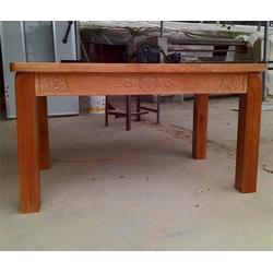 源林木业-实木餐桌-不开裂实木餐桌图片