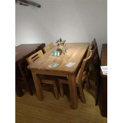 实木餐桌、源林木业、定做实木餐桌图片