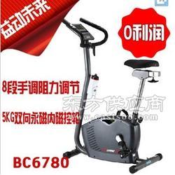 艾威BC6150小精灵磁控健身车 脚踏车单车 家用健身器材图片