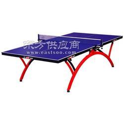红双喜T2828拱形折叠式球台 小彩虹可折叠乒乓球台图片