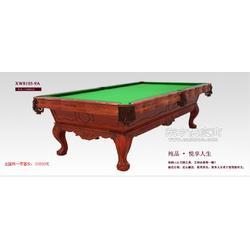 国际星牌标准美式XW8105-9A黑8成人家庭用雕刻16彩台球桌图片