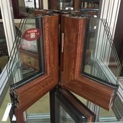 沈阳塑木窗、沈阳宏家豪门窗、沈阳塑木窗图片