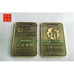 古铜色纪念金属奖牌制作,马拉松奖牌定做,定做马拉松金属纪念奖牌图片