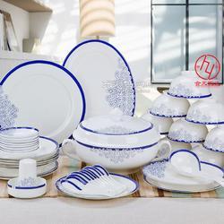 定制员工年终礼品陶瓷餐具套装图片