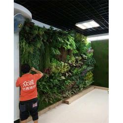 仿真植物墙-众诚仿真植物 私人定制(在线咨询)植物墙图片