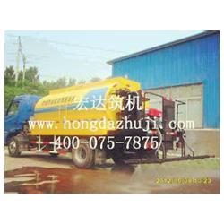 导热油式乳化沥青洒布车,乳化沥青洒布车,宏达图片