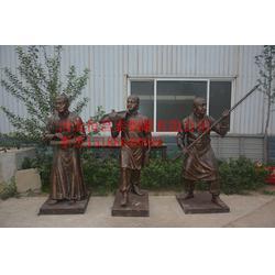 城市人物雕塑-恒昌泰铜雕(在线咨询)人物雕塑图片