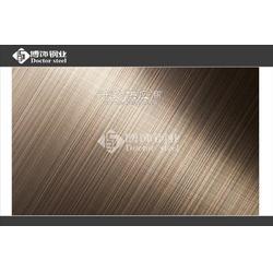彩色不锈钢双向拉丝板高档会所装饰 工艺精细不锈钢双向拉丝板图片