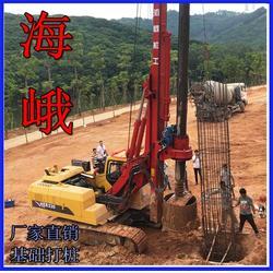 旋挖机钻桩、海峨、基础旋挖机钻桩图片