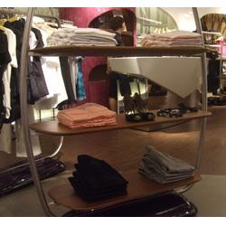 服装店中岛展示架设计,澳林货架,高州服装店中岛展示架图片