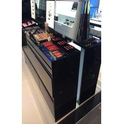 烤漆化妆品展柜哪里好_澳林货架_崇左烤漆化妆品展柜图片