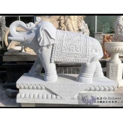 石雕大象供应厂家图片