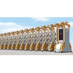 电动门伸缩门|益阳伸缩门|圣田智能科技(查看)图片