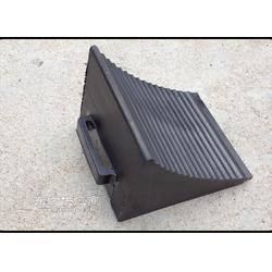 大车专用橡胶止滑器 阻塞器 倒车垫 上坡垫图片