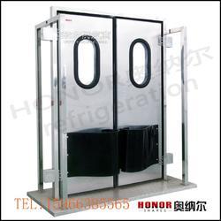 不锈钢自由门防撞门厂家,奥纳尔专业自由门供应量大从优图片