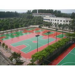 硅pu塑胶篮球场造价多少钱 建造一个硅pu篮球场大概需要多少钱图片