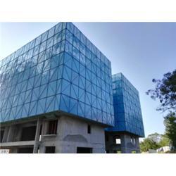 喷塑爬架网 建筑工地爬架网片多少钱-爬架网厂家图片