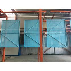 新型建筑爬架网,蓝色建筑爬架网,圆孔建筑爬架网图片
