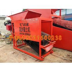 红飞筛沙机20型 大型滚筒式筛沙筛土机 建筑工地专用筛沙机图片