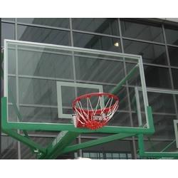 钢化篮球板公司|强森体育(在线咨询)|篮球板图片