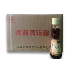 纯芝麻油加工厂家|香鹤来食品(在线咨询)|纯芝麻油图片