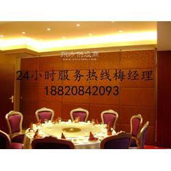酒店餐厅包厢活动隔墙厂家图片