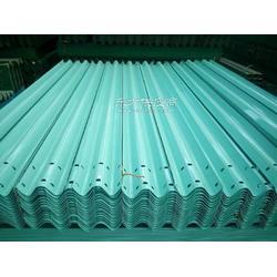 6027浅绿色波形护栏板工厂到货