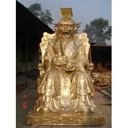 寺庙佛像、兴悦铜雕寺庙佛像厂家、寺庙佛像贴金图片