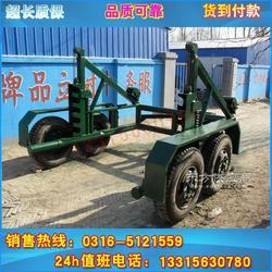 3吨机械电缆拖车 电缆炮车 电缆拖车工厂直销图片