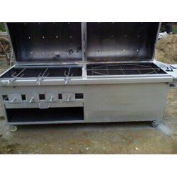 碳烤羊腿炉子多少钱、唐山烤羊腿炉、小六炉具质量好(查看)图片