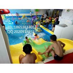 金色太阳儿童泳池设备生产厂家承接室内水上乐园戏水拼接亚克力池图片