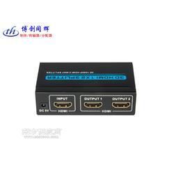 博创同辉HDMI分配器1分2,1080PHDMI分屏器图片
