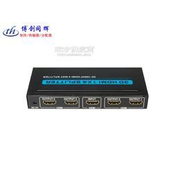 博创同辉HDMI分配器1拖4,一进四出HDMI大屏分屏器图片