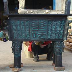 河北铜鼎厂家,宏达雕塑,铜鼎厂家咨询图片
