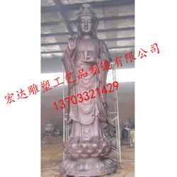 观音铜像生产厂家(在线咨询)_铜雕观音像_寺庙铜雕观音像摆件图片