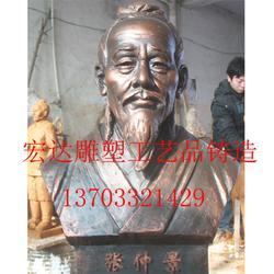 2米张仲景铜像摆件,张仲景铜像,名人雕塑制作图片
