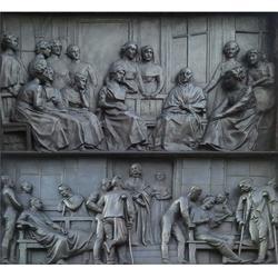 景区主题性铜浮雕制作、铜浮雕制作、铜浮雕图片