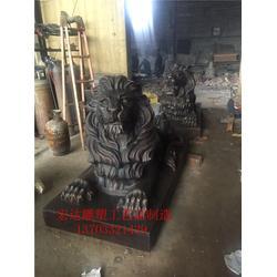 铜狮子_大型铜狮子供应厂家_铜狮子铸造(优质商家)图片