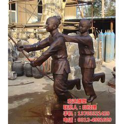 商业街情景人物雕塑加工_设计加工(在线咨询)_情景人物雕塑图片